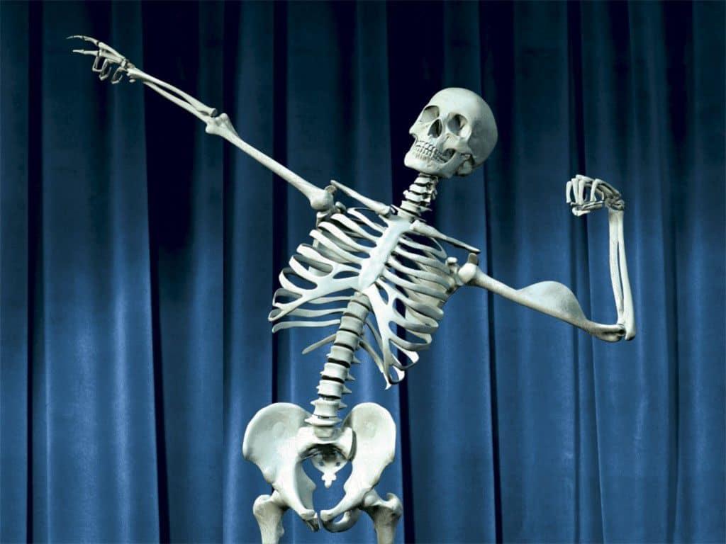Кальций в костях скелета