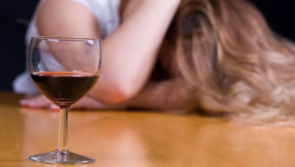 Влияние спиртного на организм женщины