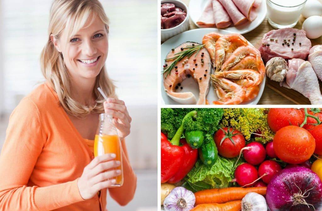 Здоровое питание при молочнице