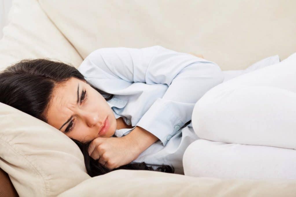 Боль в яичниках во время месячных