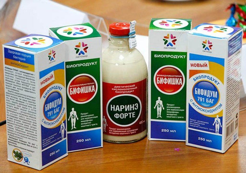 Ккисломолочные продукты для поддержания здоровой микрофлоры кишечника