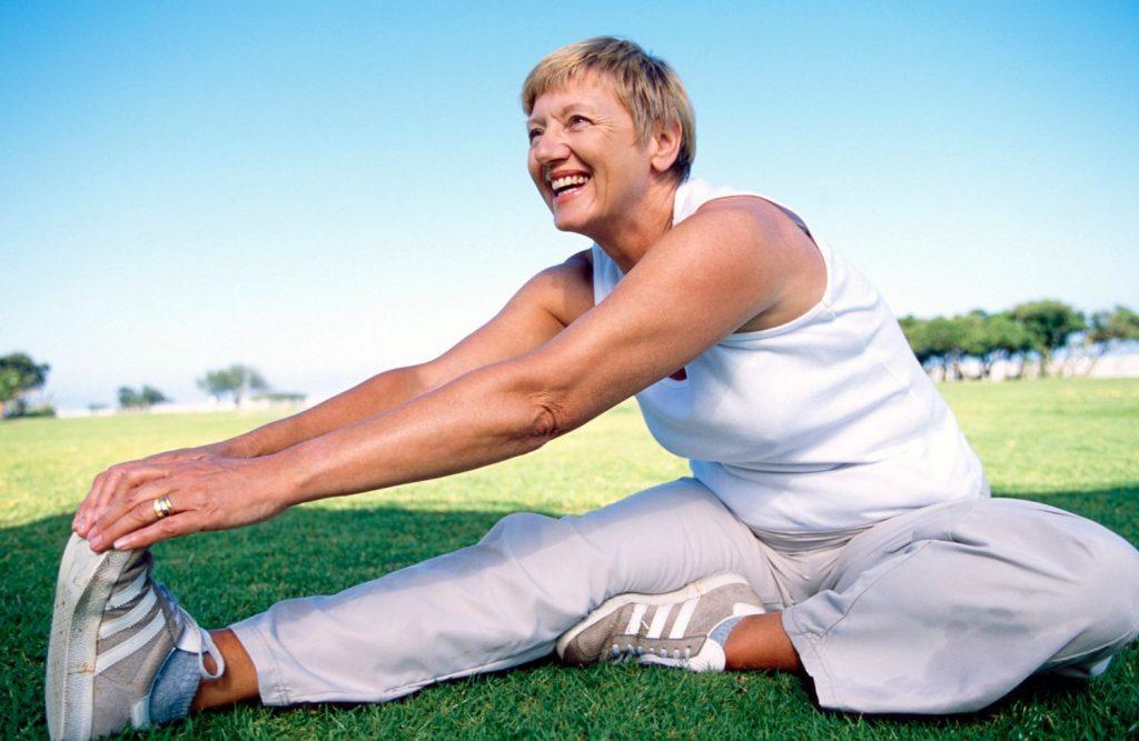 Занятие спортом в период менопаузы