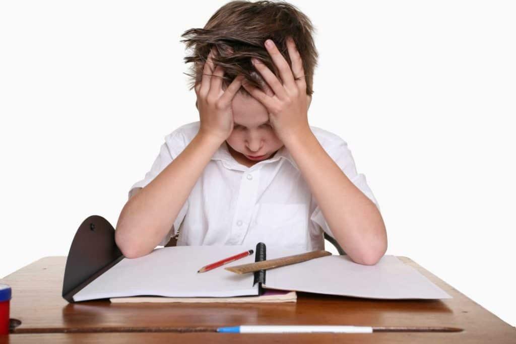 Симптомы нервного расстройства у ребенка
